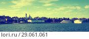 Купить «cruise boats myshkin», фото № 29061061, снято 27 августа 2016 г. (c) Яков Филимонов / Фотобанк Лори