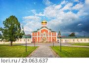 Филипповская церковь Filippovskaya church of the Iversky monastery (2018 год). Стоковое фото, фотограф Baturina Yuliya / Фотобанк Лори