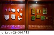 Купить «Exposition in Historical Museum of Budapest», фото № 29064113, снято 29 октября 2017 г. (c) Яков Филимонов / Фотобанк Лори