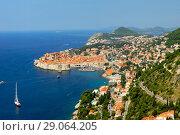 Dubrovnik Dalmatia Croatia (2009 год). Стоковое фото, фотограф Знаменский Олег / Фотобанк Лори