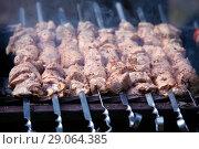 Купить «Шашлык», фото № 29064385, снято 31 августа 2018 г. (c) Татьяна Белова / Фотобанк Лори