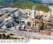 Купить «Cement factory», фото № 29070257, снято 16 октября 2018 г. (c) Яков Филимонов / Фотобанк Лори