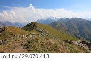 Summer Tien-Shan mountains (2018 год). Стоковое фото, фотограф Алексей Кузнецов / Фотобанк Лори