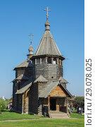 Купить «Церковь воскресенская, построена в 1776 году. Суздаль», фото № 29078025, снято 26 августа 2018 г. (c) Александр Романов / Фотобанк Лори