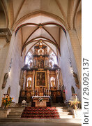 Купить «Altar of Severin church in Erfurt, Thuringia, Germany», фото № 29092137, снято 4 октября 2010 г. (c) Serg Zastavkin / Фотобанк Лори