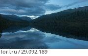 Купить «Altai mountains. Beautiful highland landscape. Russia Siberia. Timelapse», видеоролик № 29092189, снято 15 сентября 2018 г. (c) Ильин Сергей / Фотобанк Лори