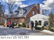 Купить «Hillwood estate, museum and gardens, Washington, D. C. , USA.», фото № 29101781, снято 5 февраля 2016 г. (c) age Fotostock / Фотобанк Лори