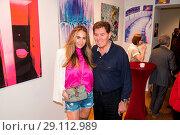 Купить «Natascha Ochsenknecht Vernissage at Art Gallery Z. Featuring: Jack White, Rafaella Slyusareva Where: Berlin, Germany When: 15 May 2017 Credit: AEDT/WENN.com», фото № 29112989, снято 15 мая 2017 г. (c) age Fotostock / Фотобанк Лори