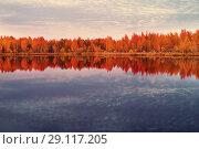 Купить «Осенний пейзаж», фото № 29117205, снято 21 сентября 2018 г. (c) Икан Леонид / Фотобанк Лори