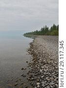 Купить «Плато Путорана, озеро Кета», фото № 29117345, снято 10 августа 2015 г. (c) Сергей Дрозд / Фотобанк Лори