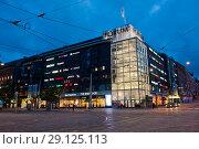 Купить «Магазин Forum. Хельсинки. Финляндия», фото № 29125113, снято 17 сентября 2018 г. (c) Екатерина Овсянникова / Фотобанк Лори