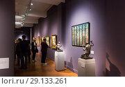 Купить «Exposition of Hungarian National Gallery», фото № 29133261, снято 29 октября 2017 г. (c) Яков Филимонов / Фотобанк Лори