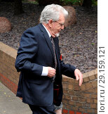 Купить «Rolf Harris arrives at Southwark Crown Court to continue his trial. Harris was released from prison on bail last Friday (19May17). Featuring: Rolf Harris...», фото № 29159121, снято 22 мая 2017 г. (c) age Fotostock / Фотобанк Лори
