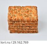 Купить «The dietetic biscuits with a sunflower seeds», фото № 29162769, снято 29 сентября 2018 г. (c) Володина Ольга / Фотобанк Лори