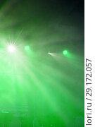 Купить «Stage lights. Soffits. Concert light», фото № 29172057, снято 27 июня 2019 г. (c) Евгений Ткачёв / Фотобанк Лори