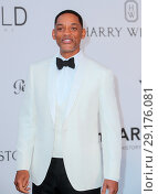 Купить «Arrivals for the 24th annual amfAR fundraiser during the Cannes Film Festival at the Hotel Eden Roc in Cap D'Antibes Featuring: Will Smith Where: Cap D...», фото № 29176081, снято 25 мая 2017 г. (c) age Fotostock / Фотобанк Лори