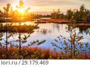 Купить «Осенний пейзаж», фото № 29179469, снято 5 октября 2018 г. (c) Икан Леонид / Фотобанк Лори