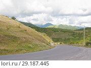 Купить «Mountains in the vicinity of Gudauri ski resort. The Republic Of Georgia», фото № 29187445, снято 6 августа 2013 г. (c) Олег Хархан / Фотобанк Лори