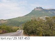 Купить «Гора Демерджи  в Крыму», фото № 29187453, снято 9 августа 2012 г. (c) Олег Хархан / Фотобанк Лори