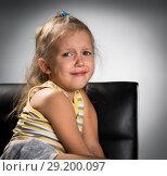 Купить «the girl is crying», фото № 29200097, снято 6 октября 2018 г. (c) Типляшина Евгения / Фотобанк Лори