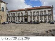 Купить «Bishop's palace (1737), Porto, Portugal.», фото № 29202289, снято 9 апреля 2018 г. (c) age Fotostock / Фотобанк Лори