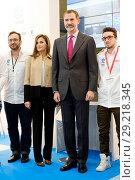 Купить «King Felipe VI of Spain and Queen Letizia of Spain attend the inaugurate FITUR International Tourism Fair 2018 at Ifema in Madrid Featuring: King Felipe...», фото № 29218345, снято 17 января 2018 г. (c) age Fotostock / Фотобанк Лори