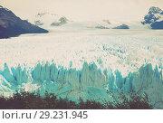 Купить «Glacier Perito Moreno, southeast of Argentina», фото № 29231945, снято 2 февраля 2017 г. (c) Яков Филимонов / Фотобанк Лори