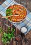 Купить «delicious Beef and baby Okra Stew», фото № 29234113, снято 3 октября 2018 г. (c) Oksana Zh / Фотобанк Лори