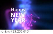 Купить «Happy new year», видеоролик № 29236613, снято 21 ноября 2018 г. (c) Wavebreak Media / Фотобанк Лори