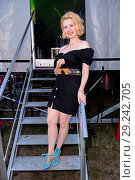 Купить «Radio B2 SchlagerHammer Open Air Festival at Racecourse Hoppegarten (Galopprennbahn). Featuring: Sarah Jane Scott Where: Berlin, Germany When: 14 Jul 2018 Credit: WENN.com», фото № 29242705, снято 14 июля 2018 г. (c) age Fotostock / Фотобанк Лори
