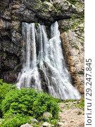 Купить «Гегский водопад - жемчужина Абхазии», фото № 29247845, снято 26 июня 2018 г. (c) Евгений Ткачёв / Фотобанк Лори