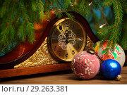Новогодний натюрморт. Стоковое фото, фотограф Целоусов Дмитрий Геннадьевич / Фотобанк Лори