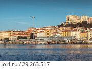 Купить «Port of Ajaccio, seaside view. Corsica», фото № 29263517, снято 30 июня 2015 г. (c) EugeneSergeev / Фотобанк Лори