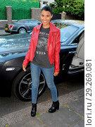 Купить «Model Layla Romic out and about in Kensington, London. Featuring: Layla Romic Where: London, United Kingdom When: 22 Jun 2018 Credit: WENN.com», фото № 29269081, снято 22 июня 2018 г. (c) age Fotostock / Фотобанк Лори