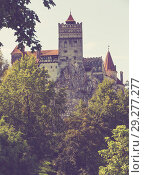 Купить «Bran Castle, Romania», фото № 29277277, снято 18 сентября 2017 г. (c) Яков Филимонов / Фотобанк Лори
