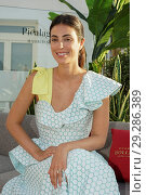 Купить «Alessandra de Osma, aka Sassa, wife of Cristián de Hannover, attends the 'Life Can Be Perfect' party at NH Gran Via Hotel Featuring: Alessandra de Osma...», фото № 29286389, снято 19 июня 2018 г. (c) age Fotostock / Фотобанк Лори