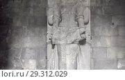 Купить «Candi Prambanan or Candi Rara Jonggrang is an 9th-century Hindu temple compound in Central Java, Indonesia», видеоролик № 29312029, снято 11 октября 2008 г. (c) Куликов Константин / Фотобанк Лори