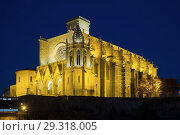 Купить «Basilica of Santa Maria de la Seu in Manresa», фото № 29318005, снято 18 января 2020 г. (c) Яков Филимонов / Фотобанк Лори