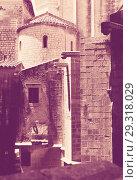 Купить «Sant Pere de Galligants in Girona», фото № 29318029, снято 12 июня 2014 г. (c) Яков Филимонов / Фотобанк Лори