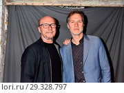 Paul Haggis, David Morrissey at the aftershow-party for the premiere... (2018 год). Редакционное фото, фотограф AEDT / WENN.com / age Fotostock / Фотобанк Лори