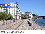 Купить «Стокгольм, Швеция. Городской пейзаж», фото № 29360269, снято 7 августа 2018 г. (c) Светлана Колобова / Фотобанк Лори