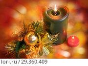 Купить «New year and Christmas greeting card», фото № 29360409, снято 27 апреля 2018 г. (c) NataMint / Фотобанк Лори