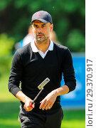 Купить «Sports stars and celebrities join professional golfers at the BMW PGA Championship pro-am at Wentworth Golf Club Featuring: Pep Guardiola Where: Wentworth...», фото № 29370917, снято 23 мая 2018 г. (c) age Fotostock / Фотобанк Лори