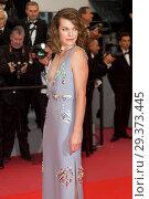 Купить «71st Annual Cannes Film Festival - 'Burning' - Premiere Featuring: Milla Jovovich Where: Cannes, France When: 16 May 2018 Credit: Euan Cherry/WENN.», фото № 29373445, снято 16 мая 2018 г. (c) age Fotostock / Фотобанк Лори