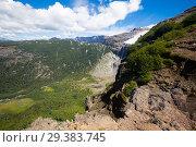 Купить «Tronador volcano and glaciers», фото № 29383745, снято 5 февраля 2017 г. (c) Яков Филимонов / Фотобанк Лори