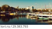 Купить «Port of Constanta, Romania», фото № 29383793, снято 20 сентября 2017 г. (c) Яков Филимонов / Фотобанк Лори