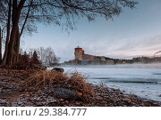 Купить «Savonlinna castle at the winter. Finland Description: Savonlinna castle at the winter. Finland», фото № 29384777, снято 5 января 2017 г. (c) Liseykina / Фотобанк Лори