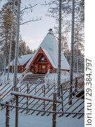 Купить «Santa Claus village in Finland», фото № 29384797, снято 9 января 2017 г. (c) Liseykina / Фотобанк Лори