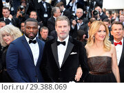 Купить «71st Annual Cannes Film Festival - 'Solo: A Star Wars Story' - Premiere Featuring: Curtis Jackson, 50 Cent, John Travolta, Kelly Preston Where: Cannes...», фото № 29388069, снято 15 мая 2018 г. (c) age Fotostock / Фотобанк Лори