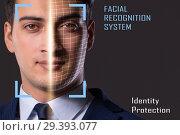 Купить «Concept of face recognition software and hardware», фото № 29393077, снято 14 ноября 2018 г. (c) Elnur / Фотобанк Лори